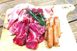 追加に便利な肉盛りセット