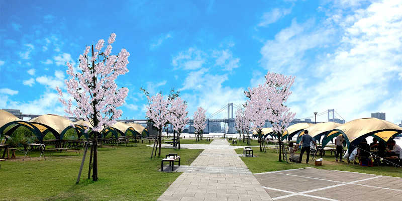 2021年は、豊洲ぐるり公園お花見BBQに期待!